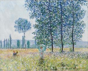 Felder im Frühling, 1887