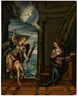 Verkündigung an Maria, 2. Hälfte des 16. Jahrhunderts