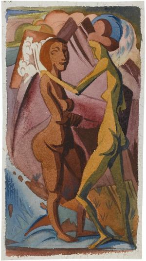 Tanz und Freude, um 1915-1917
