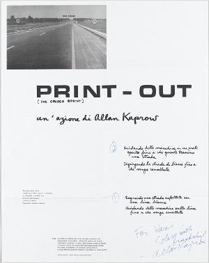 Print-Out, 1969