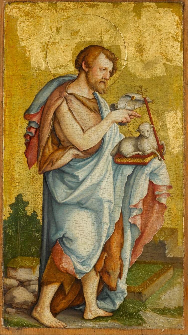 Falkensteiner Altar: Der Heilige Johannes der Täufer
