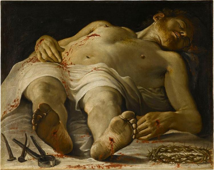 Leichnam Christi mit den Leidenswerkzeugen