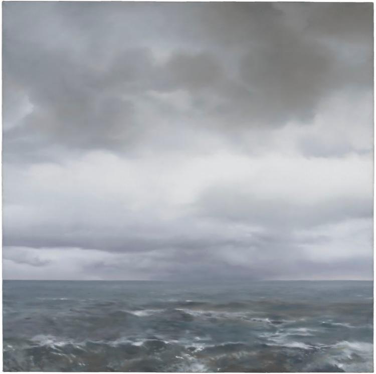 Seestück (bewölkt) (Sea Piece (cloudy sky))
