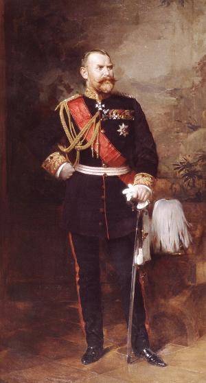 Bildnis König Wilhelm II. von Württemberg, 1896