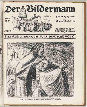 Anno Domini MCMXVI post Christum natum (in: Der Bildermann 14, 20. Oktober 1916), 1916