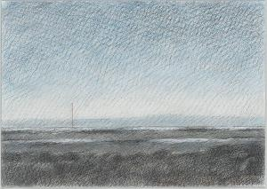 Landschaftsstudie, um 1985