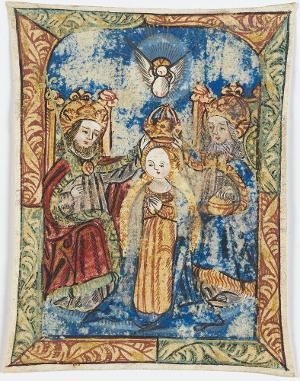Die Krönung Mariae, 16. Jh.