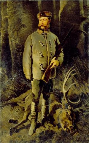Hugo von Schönberg auf Reichstädt, um 1867