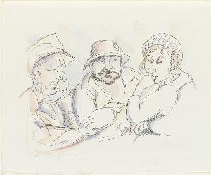 Bilderbogen aus Langenargen (Blatt 8 in: Arno Holz zum sechzigsten Geburtstage), 1923