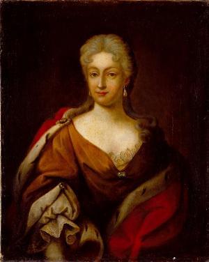 Porträt einer Dame, 1. Hälfte 18. Jh.