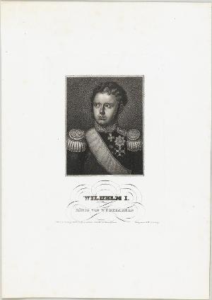 Wilhelm I., König von Württemberg (1781-1864), nicht datiert