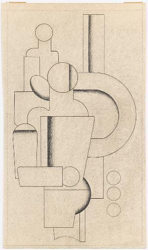 Zwei Menschen und Maschine, 1927