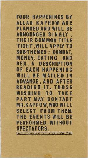 Fight, 1962