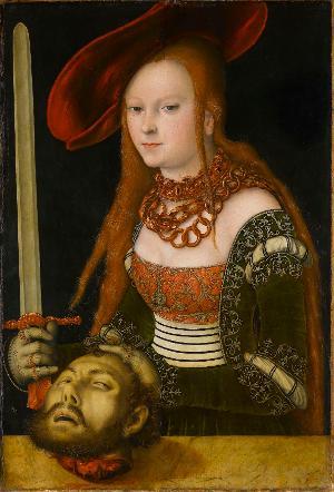 Judith mit dem Haupt des Holofernes, um 1530