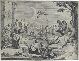 Das Goldene Zeitalter (BACCHANALIA), um 1651-1670