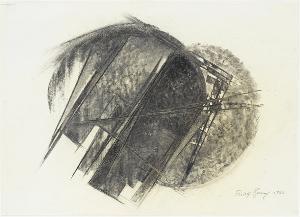 Entwurf für ein Eisenrelief, 1966