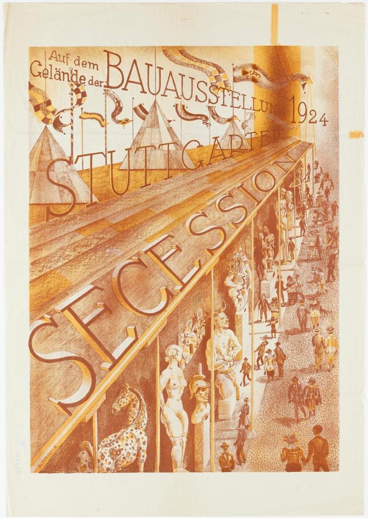 Stuttgarter Secession, Auf dem Gelände der Bauausstellung