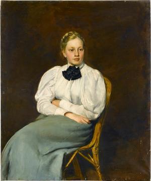 Bildnis eines jungen Mädchens, 1897