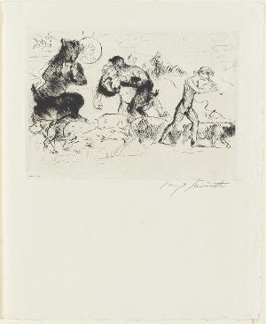 Dafnis (Blatt 3 in: Arno Holz zum sechzigsten Geburtstage), 1923