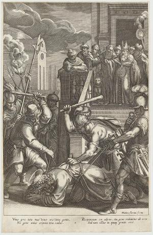 Die Verspottung Christi (Die Passion Christi), um 1600