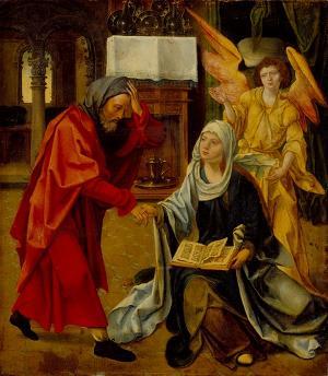 Josephs Rückkehr zu Maria, 1518