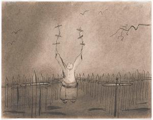 Der Kreuz-Jongleur (aus: Captivity), 1940