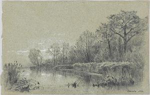 Teichlandschaft, 1884