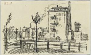 Eckhaus am Kanal, 1912
