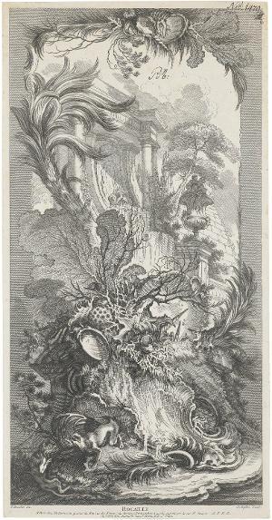 Rocaille, um 1740