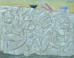 Helle Bewegung auch »Reine Bewegung« oder »Weiße Bewegung« genannt, 1946
