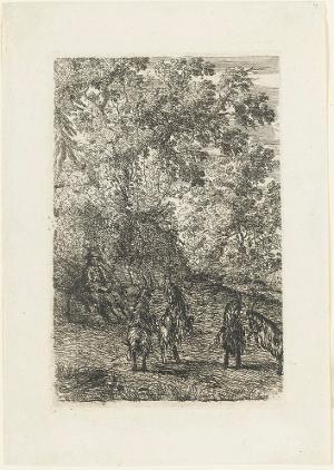 Die Ziegenherde (Les Chèvres), vor 1635