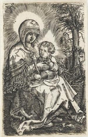 Die »Schöne Maria« in der Landschaft«, um 1519/20