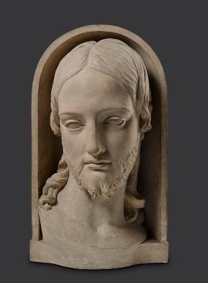Christus. Erste Fassung (Kopfmodell), 1817