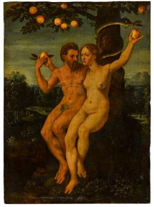 Adam und Eva, 1. Viertel 16. Jh.