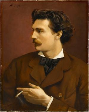 Selbstbildnis, 1875