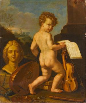 Allegorie der Künste, 2. Hälfte 17. Jh.