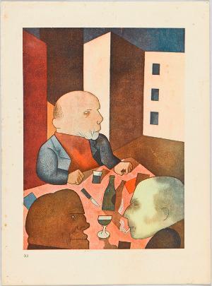 Der Mensch ist gut (Blatt 12 in: Ecce Homo), 1919 (1923)