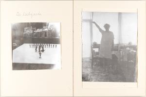 Heroische Sinnbilder, Seite 7: (Selbstbildnis im Atelier), 1969