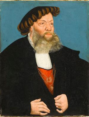 Bildnis des kursächsischen Rates Jobst von Hayn, 1543