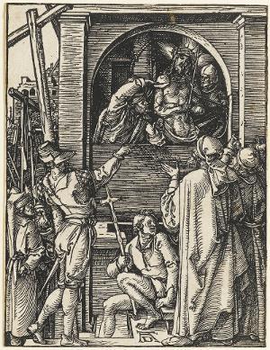 Die Schaustellung Christi (Die Kleine Passion, 20), um 1509-1511