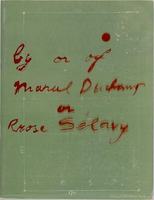 Covergestaltung »Marcel Duchamp. A Retrospective Exhibition«, 1963