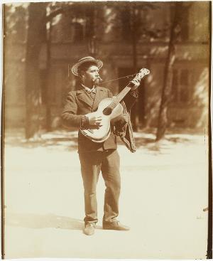 Le chanteur Italien, um 1900