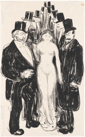 Die Gasse, 1895