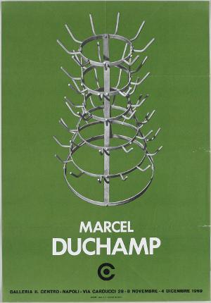 Ausstellungsplakat: MARCEL DUCHAMP, 1969