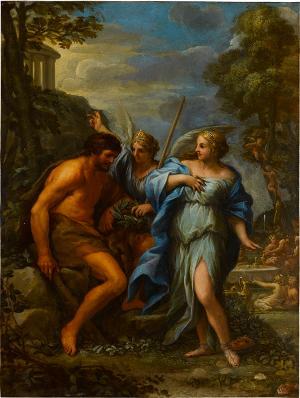 Herkules am Scheidewege, um 1650