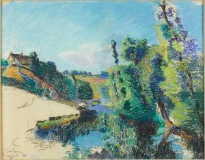 Flusslandschaft bei Crozant, 1896