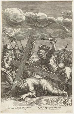 Die Kreuztragung (Die Passion Christi), um 1600
