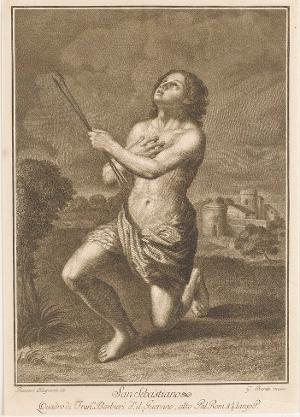 Der heilige Sebastian, um 1830/40