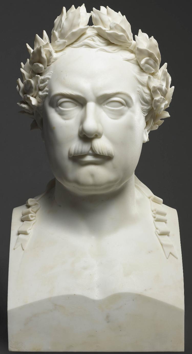 Büste König Wilhelm I. von Württemberg