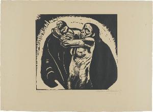 Krieg, Blatt 1: Das Opfer, Frühjahr 1922